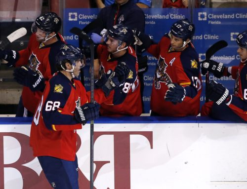 Jagr's Quest To Be The Third Best