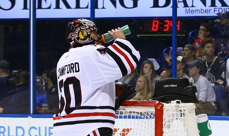 Corey Crawford - USA TODAY Sports Images
