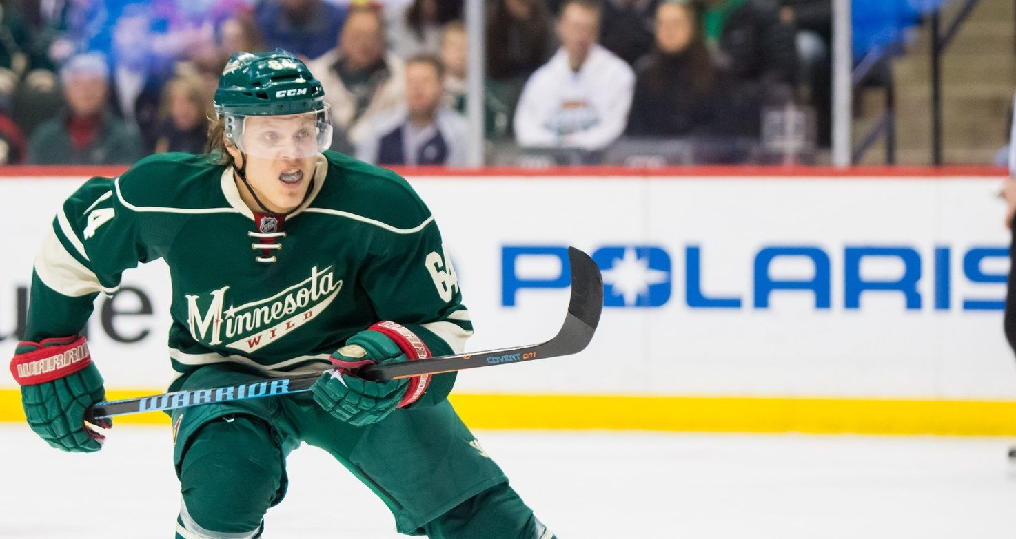 Mikael Granlund. Ron Chenoy / USA Today Sports Images