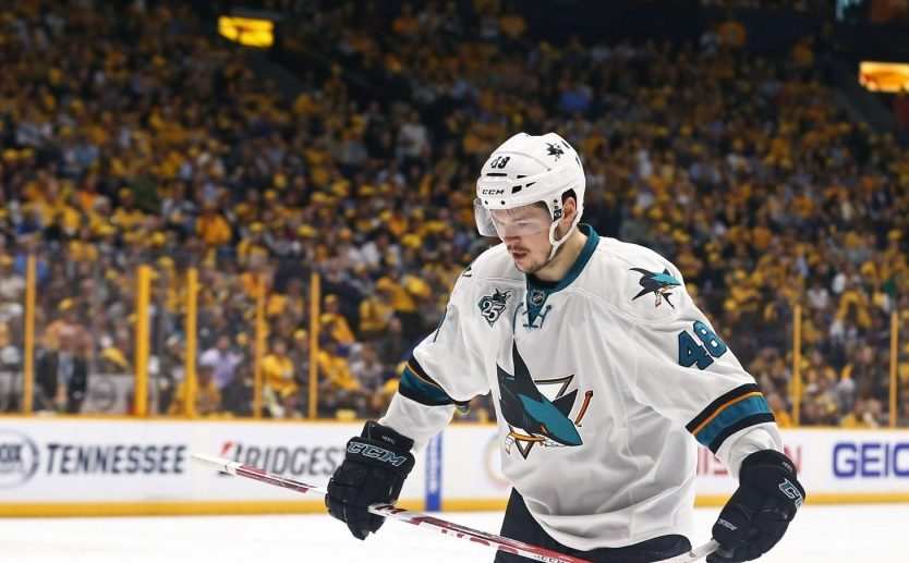 Lining Up: Struggling Sabres and Sharks replacements
