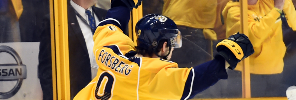 Filip Forsberg - USA TODAY Sports Images