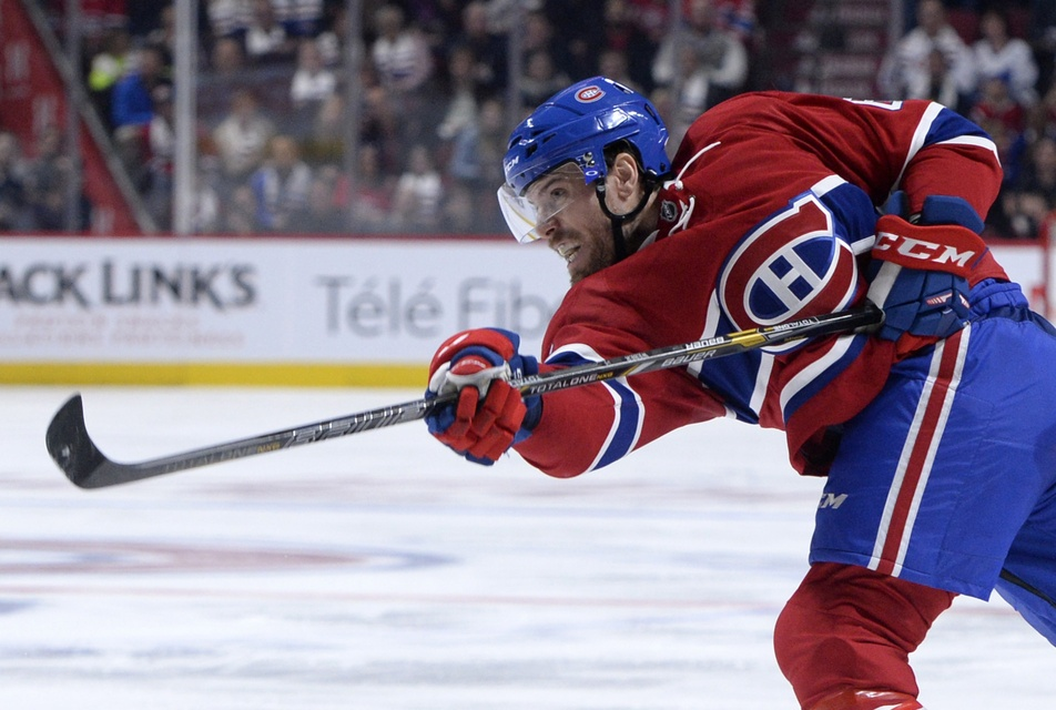 Shea Weber. Eric Bolte / USA Today Sports Images