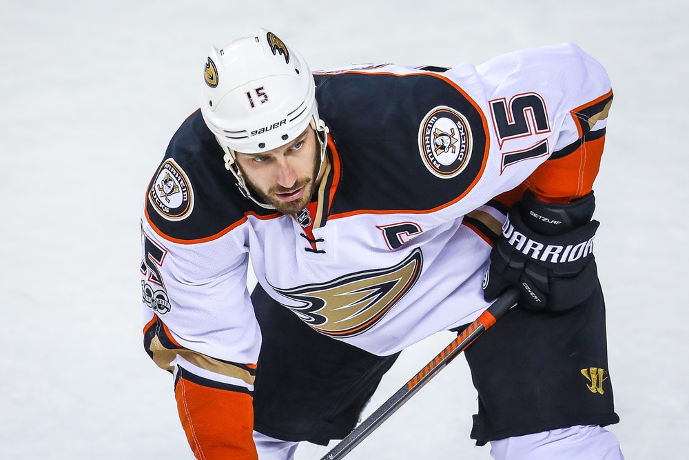 Ryan Getzlaf. Sergei Belski / USA Today Sports Images