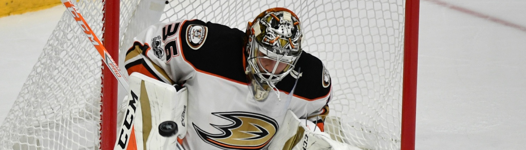 John Gibson - USA TODAY Sports Images