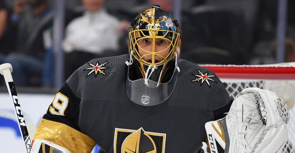 Marc-Andre Fleury. Stephen Sylvanie / USA Today Sports Images