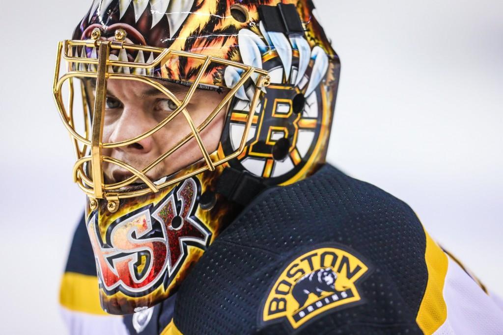 Tuukka Rask. Sergei Belski / USA Today Sports Images