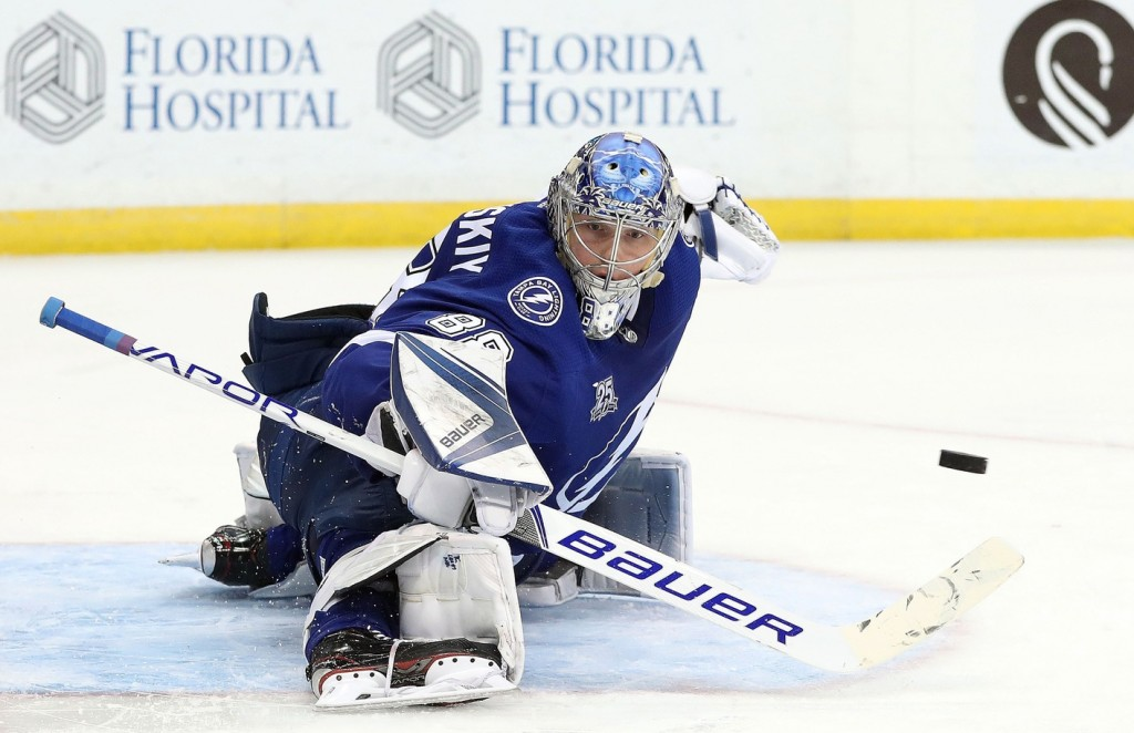 Andrei Vasilevskiy. Kim Klement / USA Today Sports Images