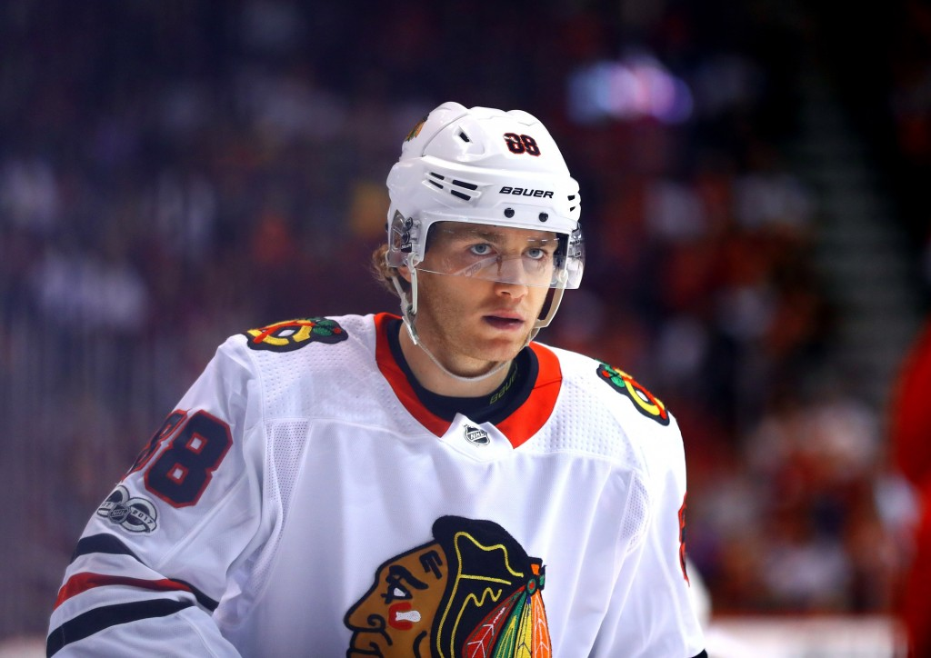 Patrick Kane. Mark Rebilas / USA Today Sports Images