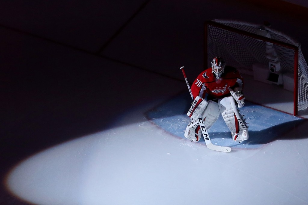 Braden Holtby. Geoff Burke / USA Today Sports Images