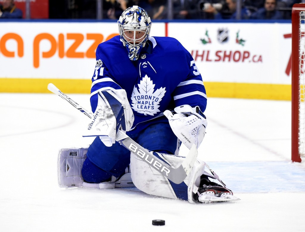 Frederik Andersen. Dan Hamilton / USA Today Sports Images