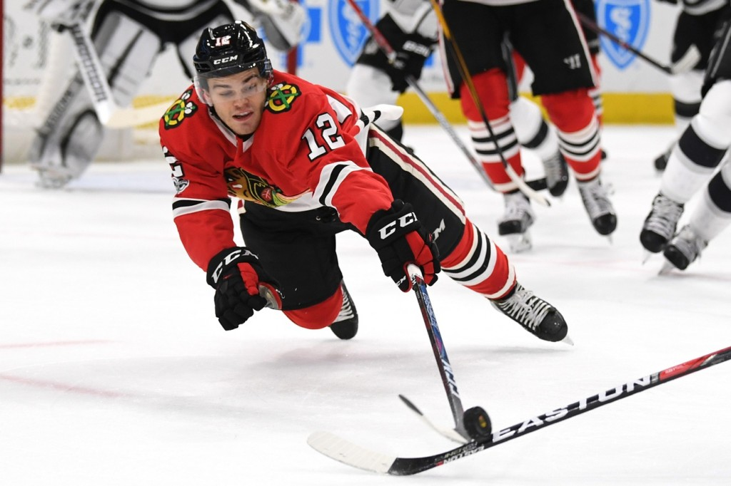 Alex DeBrincat. Patrick Gorski / USA Today Sports Images