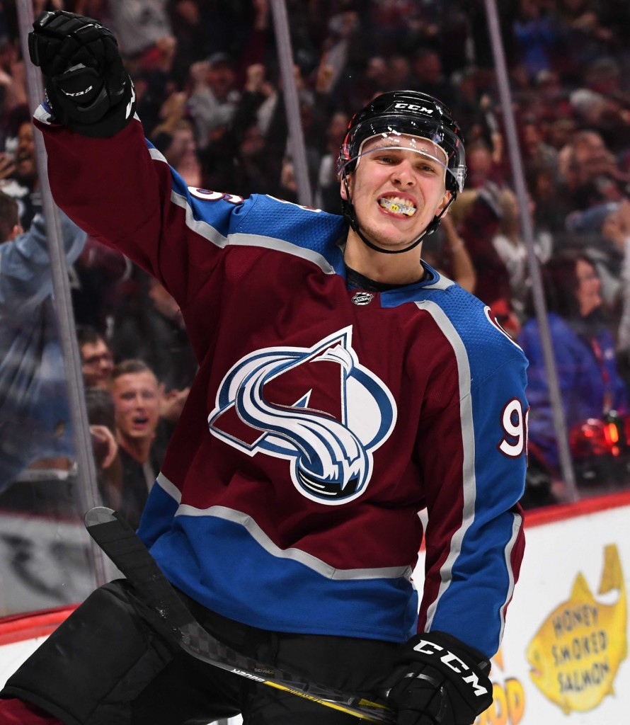 Mikko Rantanen. Ron Chenoy / USA Today Sports Images
