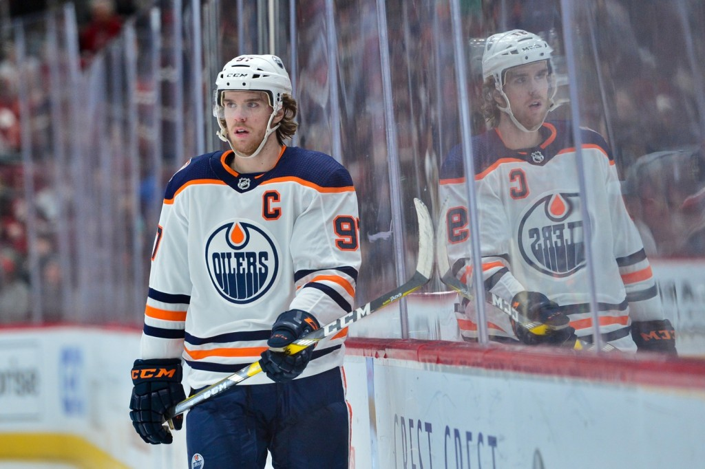 Connor McDavid. Matt Kartozian / USA Today Sports Images