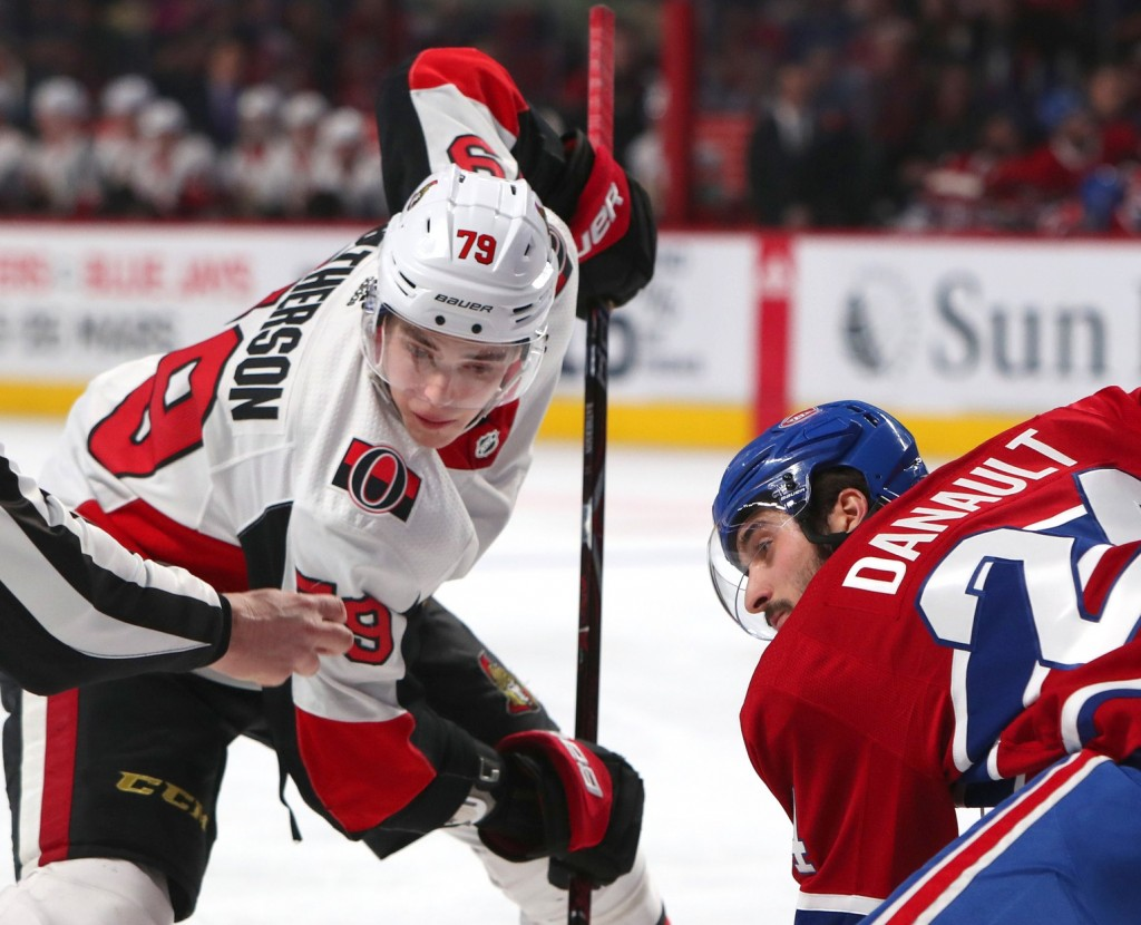 Drake Batherson. Jean-Yves Ahern / USA Today Sports Images