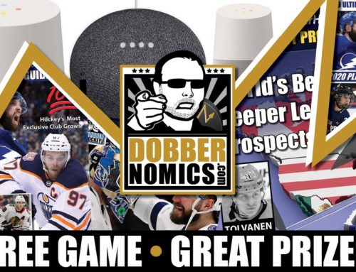 Dobbernomics 2019-20: Now With Kickass Prizes