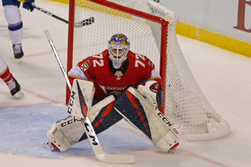 Sergei Bobrovsky. Sam Navarro / USA Today Sports Images