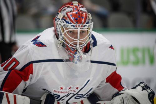 Ilya Samsonov. Jerome Miron / USA Today Sports Images