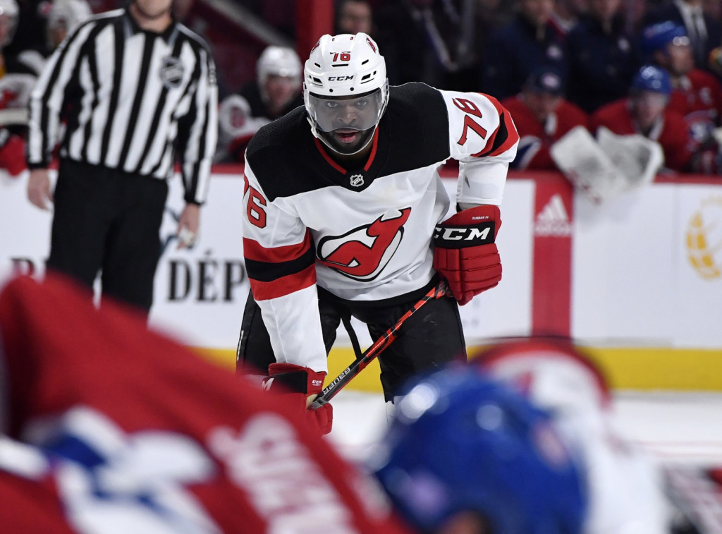 P.K. Subban. Eric Bolte / USA Today Sports Images