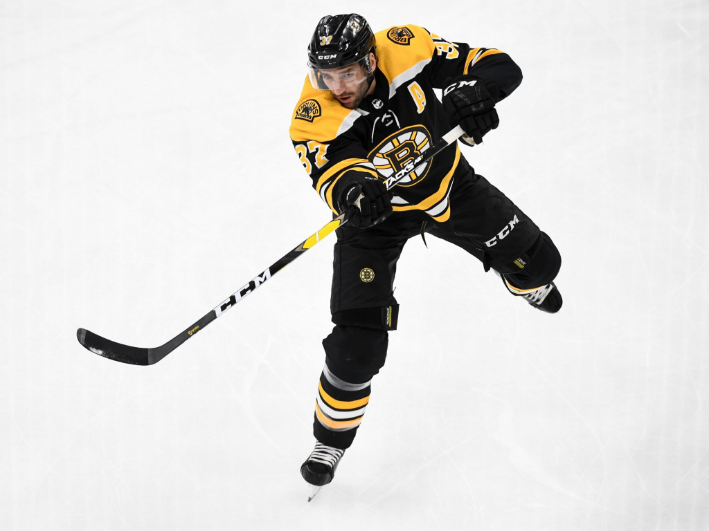 Patrice Bergeron. Brian Fluharty / USA Today Sports Images