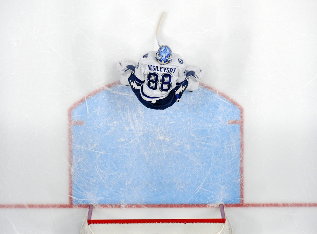 Andrei Vasilevskiy. Christopher Hanewinckel / USA Today Sports Images