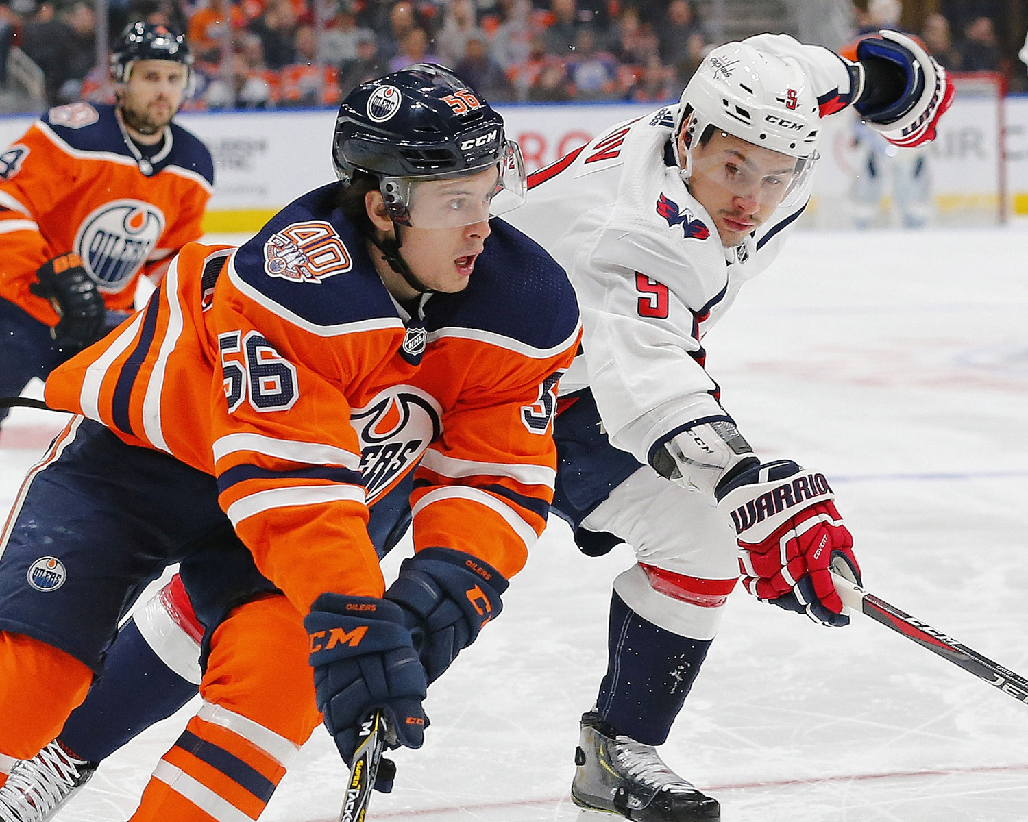 Kailer Yamamoto (56), Dmitri Orlov (9). Perry Nelson / USA Today Sports Images_feb1320